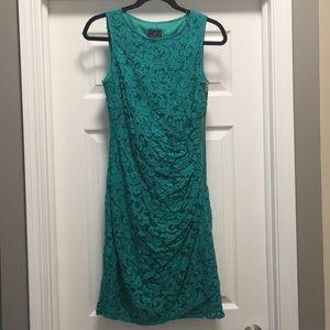 Green Adrianna Pappell dress